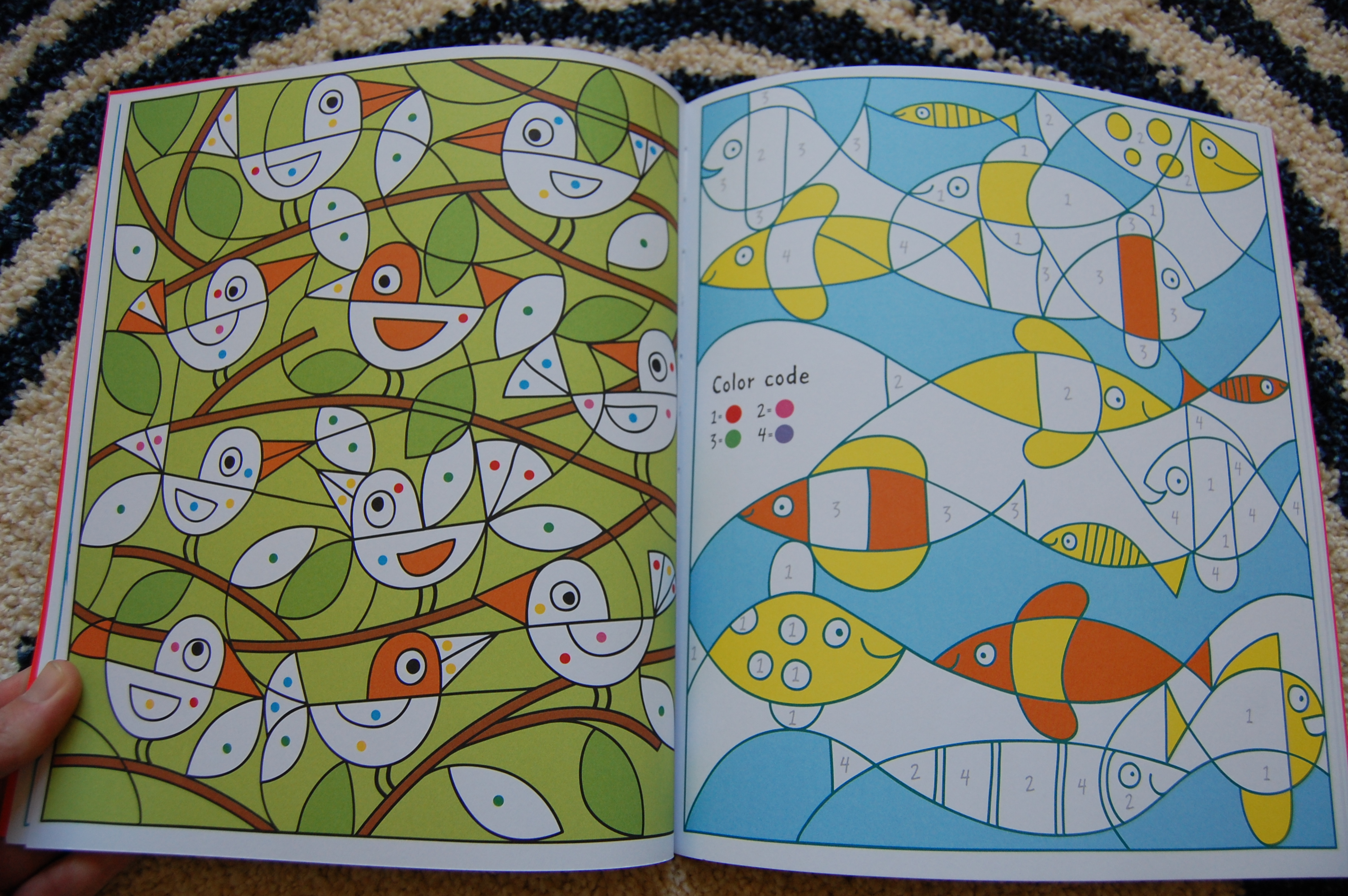 My First Color by Numbers | Usborne Books with Amy